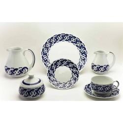 Juego de Desayuno Encadrelado Sargadelos catálogo cerámica online
