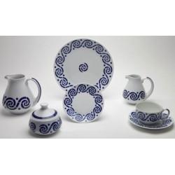 Xogo de Almorzo Espiroide Sargadelos catálogo cerámica online