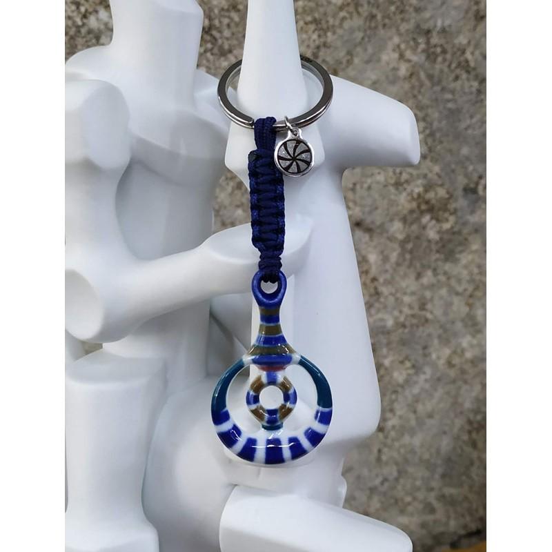 Llavero Larpán Azul Sargadelos