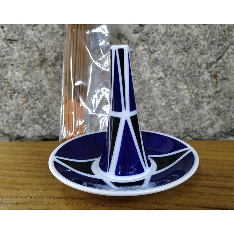 Quemador de incienso diseño triangular Sargadelos