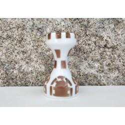 Ajedrez Torre marrón Sargadelos