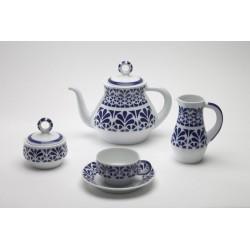 Xogo de Té Galerías 1 Sargadelos catálogo cerámica online