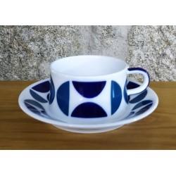 Taza té con plato AB 1 Sargadelos