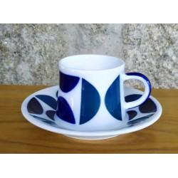 Taza café con plato AB 1 Sargadelos