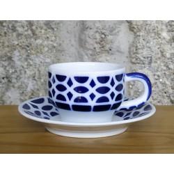 Cunca café con prato Viz Sargadelos