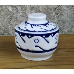 Azucarero Peixes Azul - Cerámica de Sargadelos