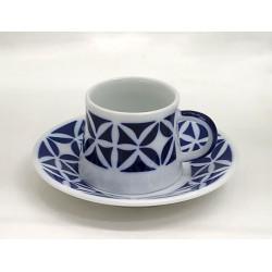 Taza de café con plato Martiño Sargadelos