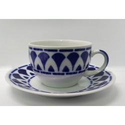 Cunca té con prato Itálica Sargadelos