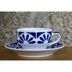 Cunca de té con prato Galerías 2 Sargadelos