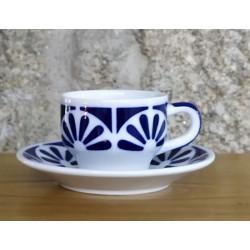 Cunca de café con prato Galerías 2 Sargadelos