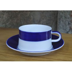 Cunca de té con prato V2 Sargadelos