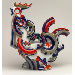 Escultura Galo GG1 de Sargadelos