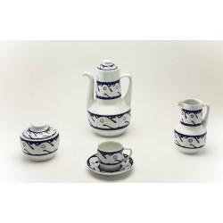Juego de Café Peixes Azul Sargadelos catálogo cerámica online