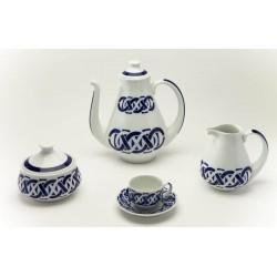 Juego de Café Encadrelado Sargadelos catálogo cerámica online