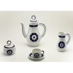 Xogo de Café Coroa Sargadelos catálogo cerámica online
