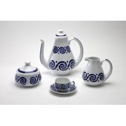 Xogo de Café Espiroide Sargadelos catálogo cerámica online