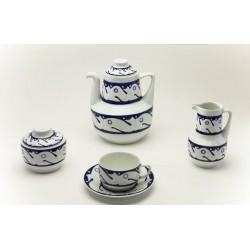 Juego de Té Peixes Azul catálogo cerámica online
