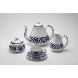 Juego de Té Espiroide Sargadelos catálogo cerámica online