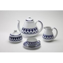Xogo de Té Itálica Sargadelos catálogo cerámica online