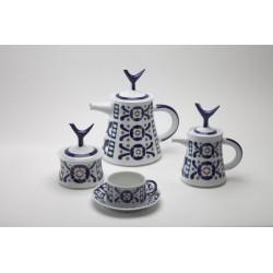 Juego de Té Burela Sargadelos catálogo cerámica online