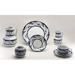 Juego de Desayuno Peixes Azul Sargadelos catálogo cerámica online